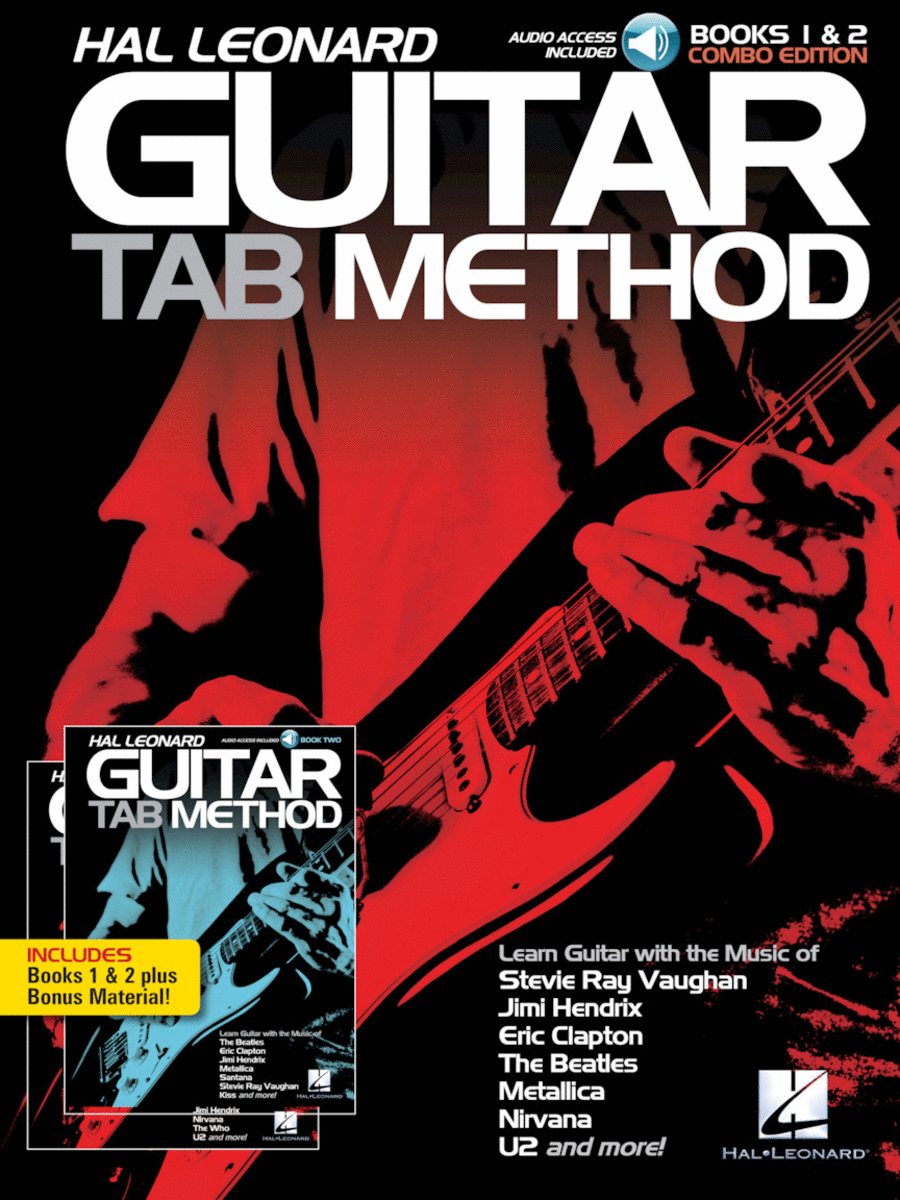 Hal Leonard Guitar Tab Method - Books 1 & 2 Combo Edition