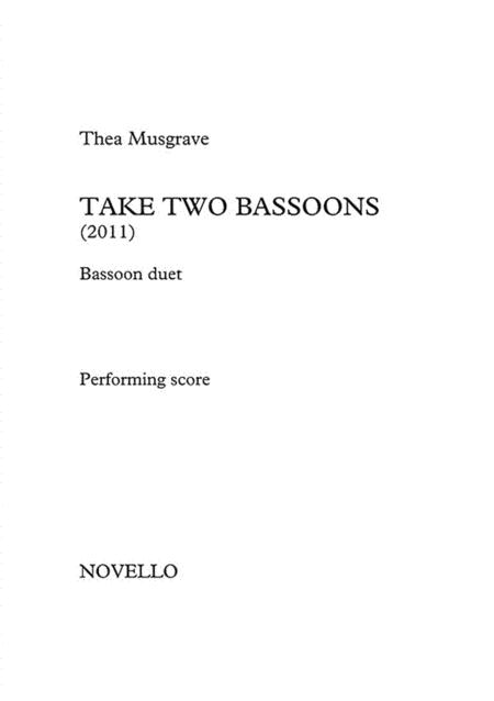 Take Two Bassoons