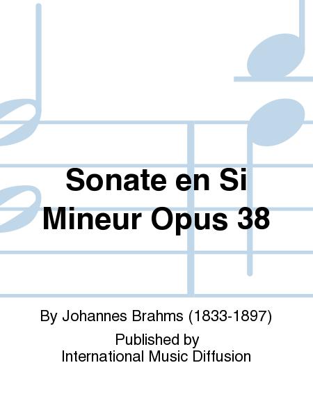 Sonate en Si Mineur Opus 38