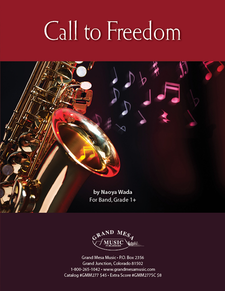 Call to Freedom (Score)