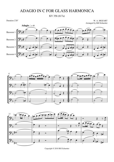 Adagio for Glass Harmonica