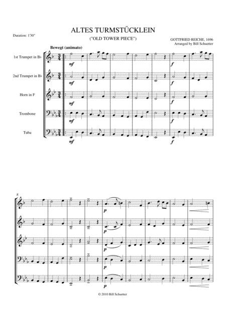 Allegretto From Sonata Opus 14, #1