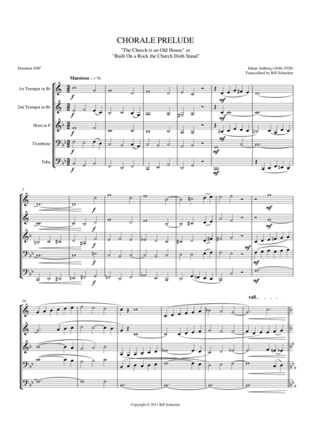 Chorale Prelude on