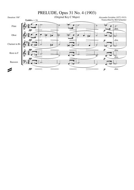 Prelude 31, #4
