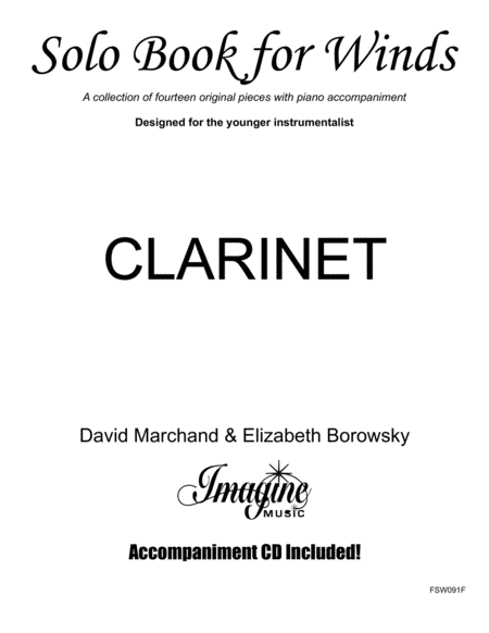 Solo Book for Winds - Clarinet