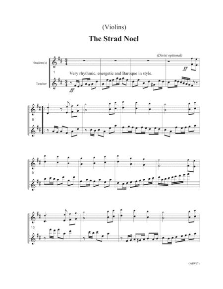 Carols for Violin Duets