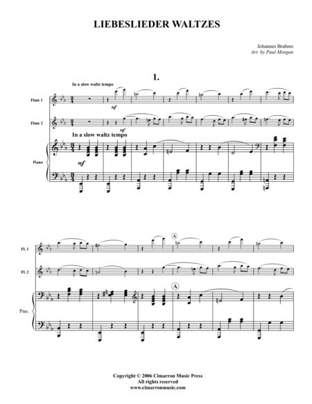 Eight Liebeslieder Waltzes