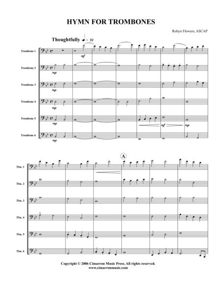 Hymn for Trombones