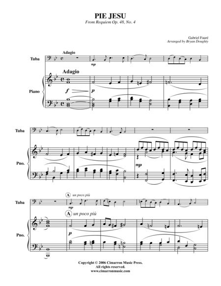 Pie Jesu, from Requiem Op. 48, No 4