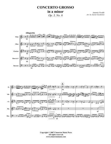 Concerto Grosso in A Minor