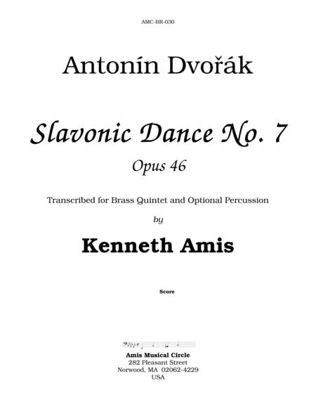 Slavonic Dance No.7, Op.46