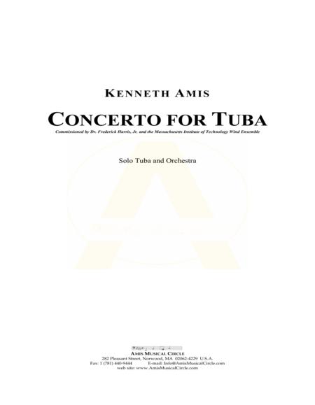 Concerto for Tuba and Orchestra (study score)