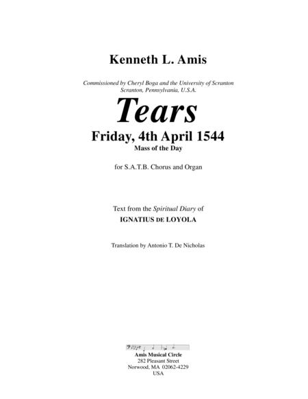 Tears - Friday, 4th April 1544