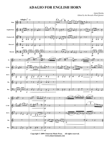 Adagio for English Horn