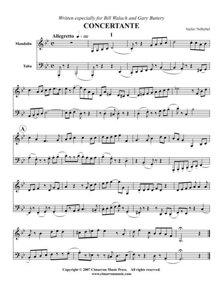 Concertante (Nine Short Mvts.)