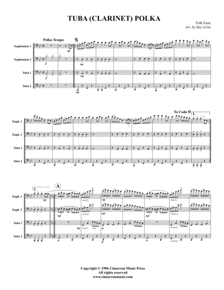 Tuba (Clarinet) Polka
