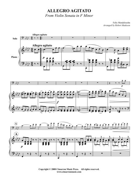Allegro Agitato in F Minor