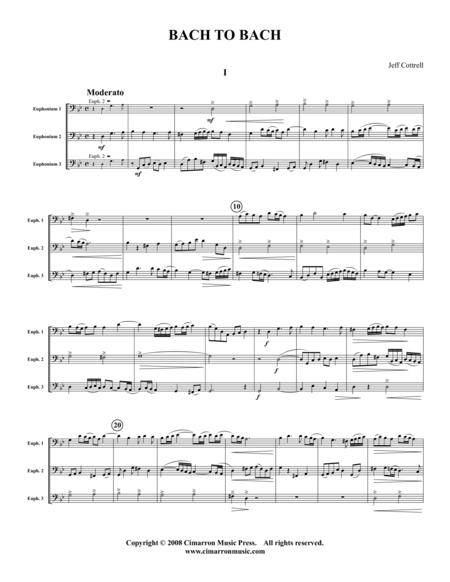 Bach 2 Bach (two trios)