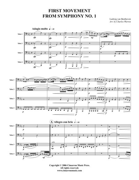 Symphony 1, Op. 21 (First Mvt.)