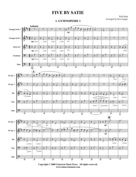 Five by Satie