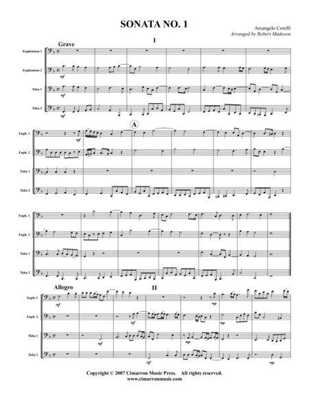Sonata No. 1, Op. 3
