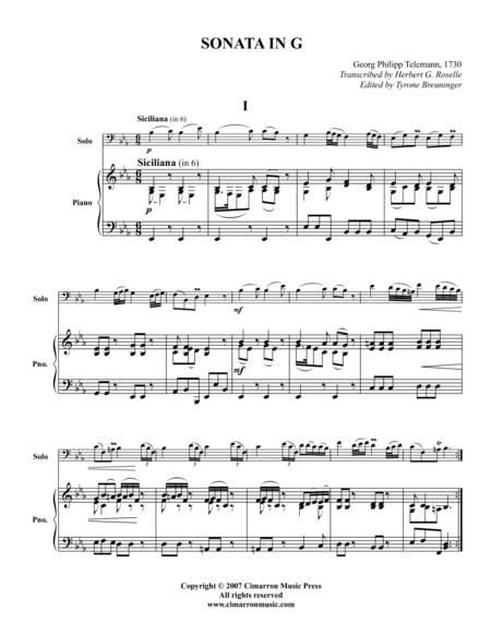 Sonata in G
