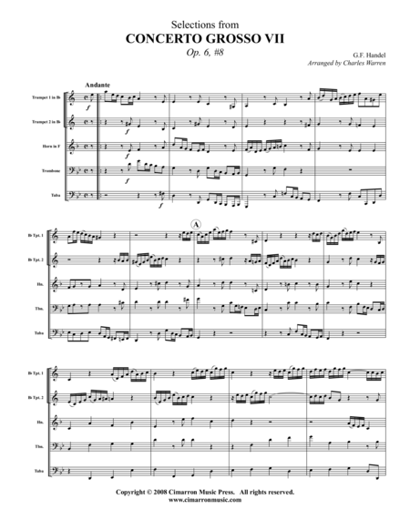 Grand Concerto VIII, Op. 6 No. 8