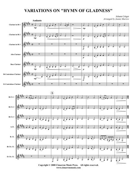 Hymn of Gladness (Variations)