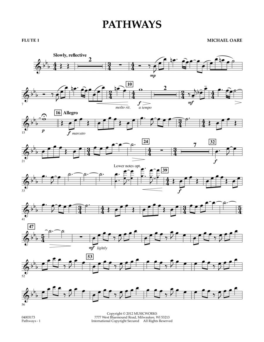 Pathways - Flute 1