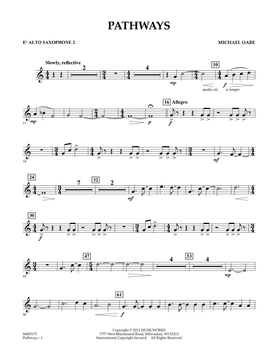 Pathways - Eb Alto Saxophone 2