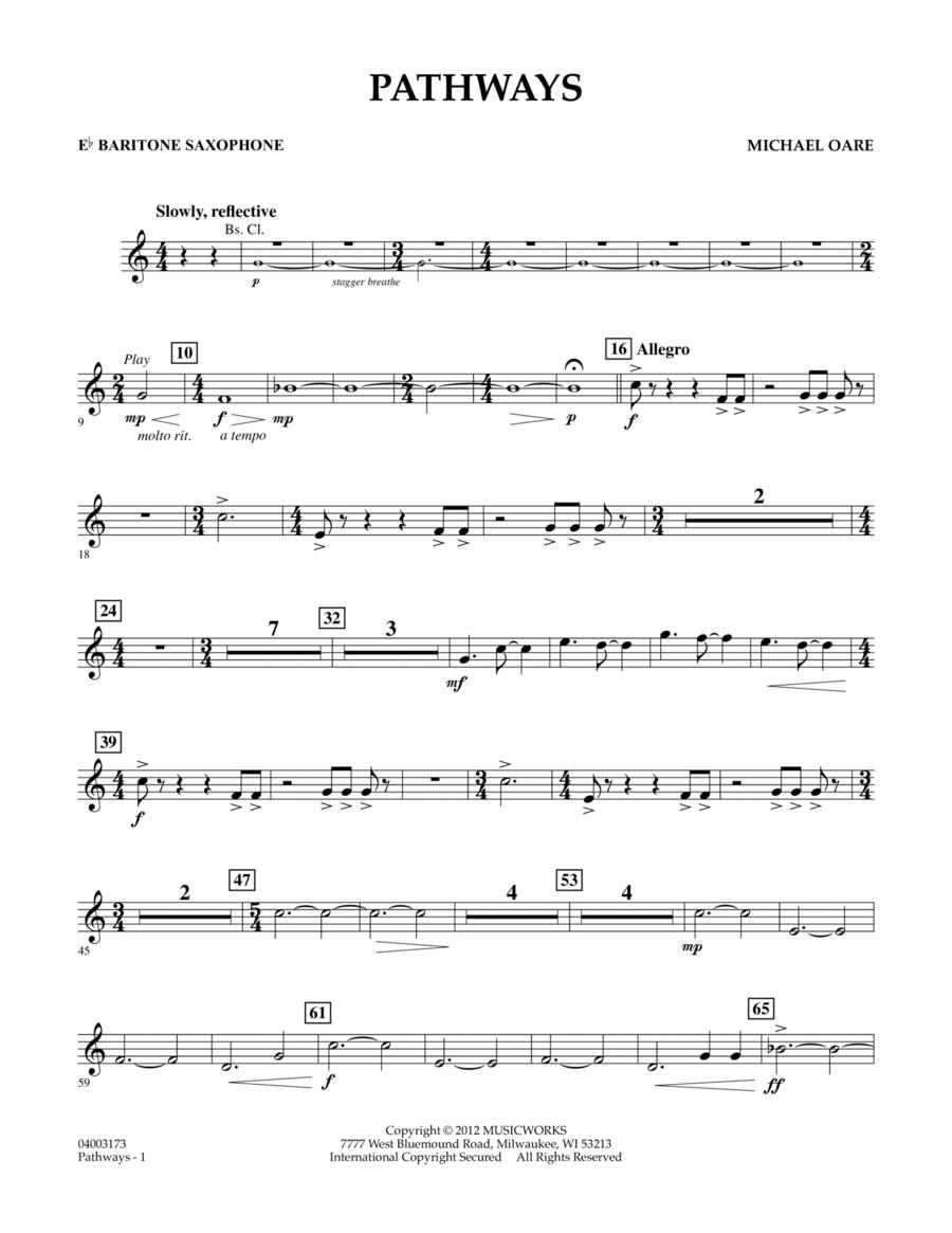 Pathways - Eb Baritone Saxophone