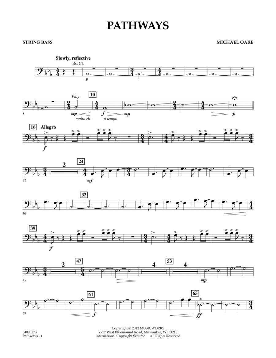Pathways - String Bass