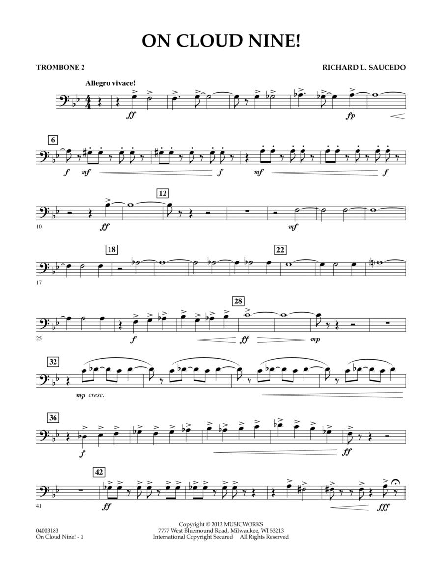 On Cloud Nine! - Trombone 2