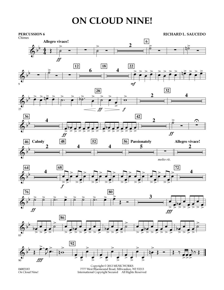 On Cloud Nine! - Percussion 6