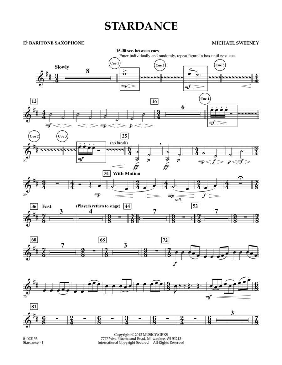 Stardance - Eb Baritone Saxophone