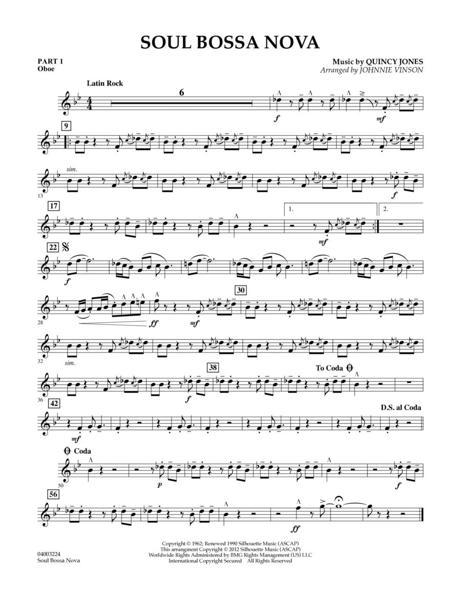 Soul Bossa Nova - Pt.1 - Oboe