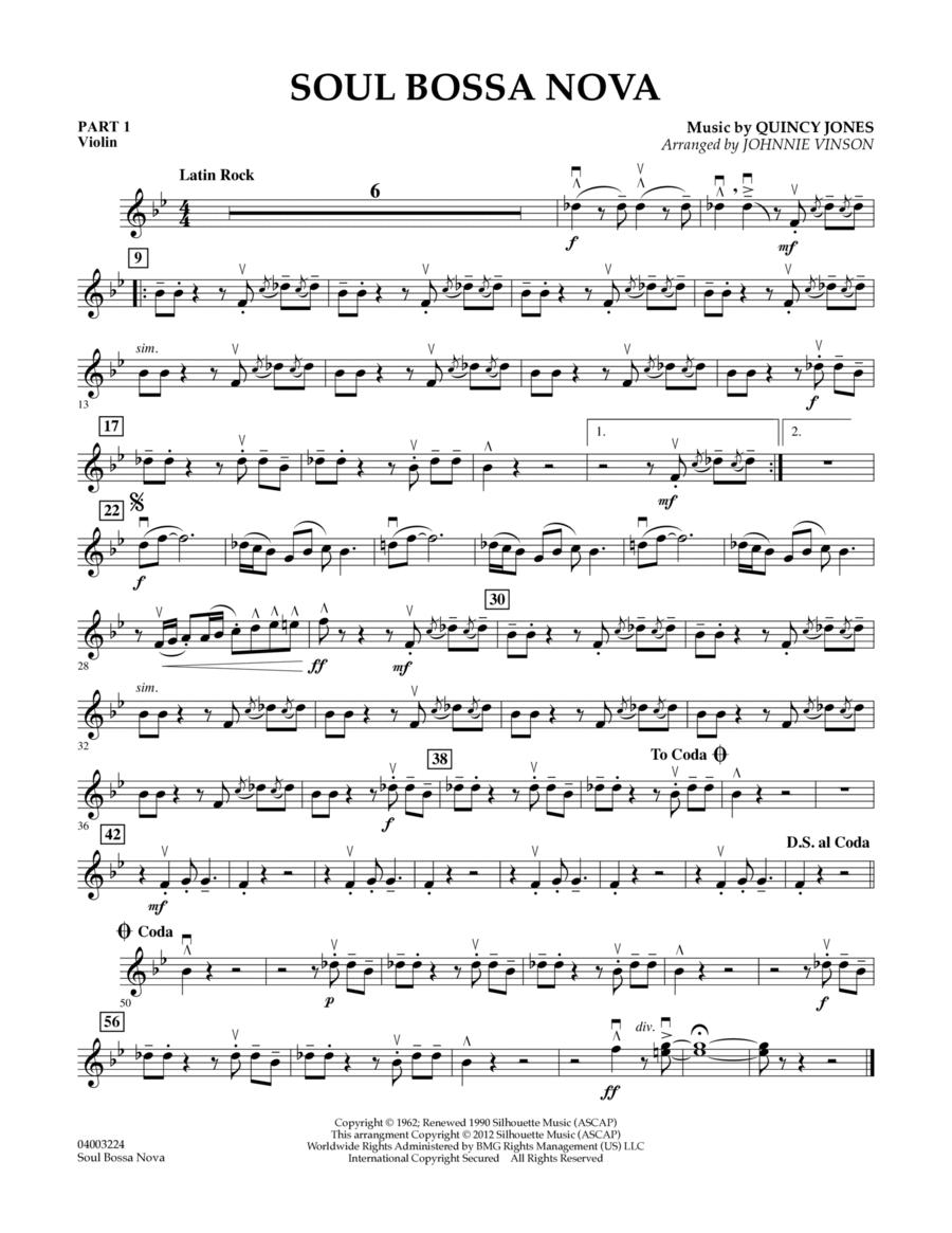 Soul Bossa Nova - Pt.1 - Violin