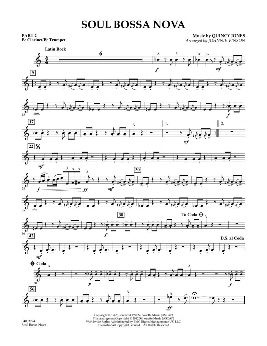 Soul Bossa Nova - Pt.2 - Bb Clarinet/Bb Trumpet