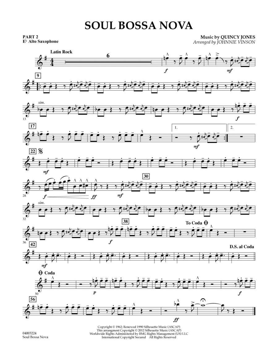 Soul Bossa Nova - Pt.2 - Eb Alto Saxophone