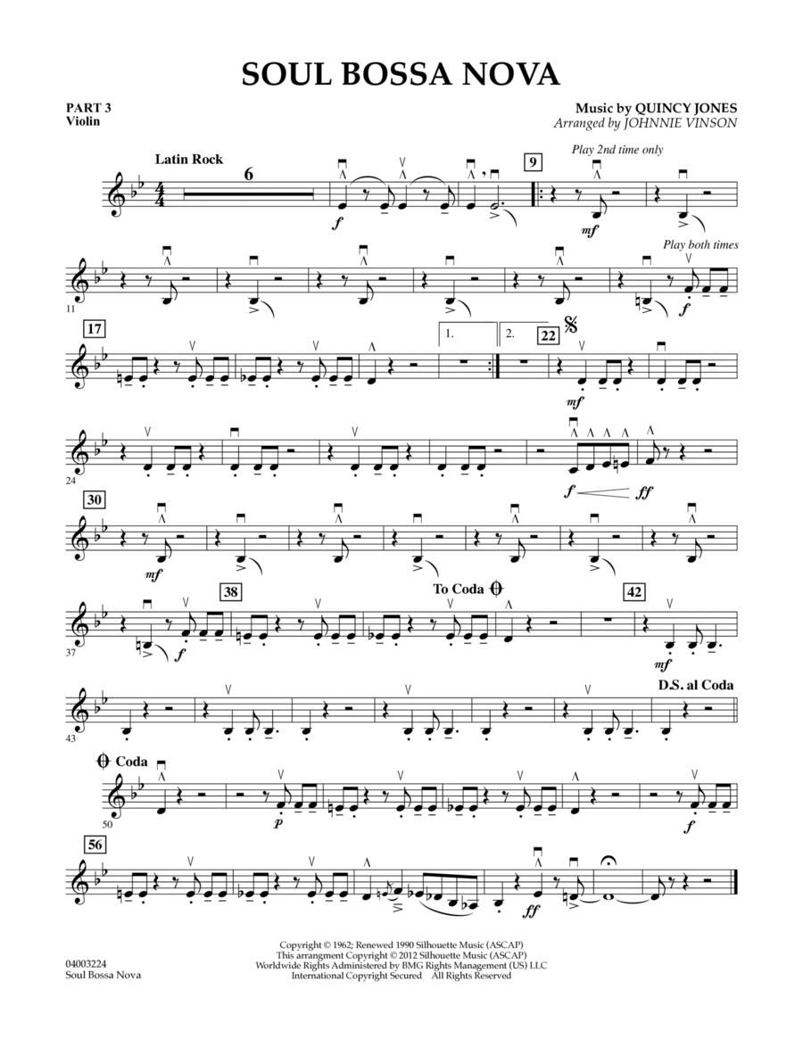 Soul Bossa Nova - Pt.3 - Violin