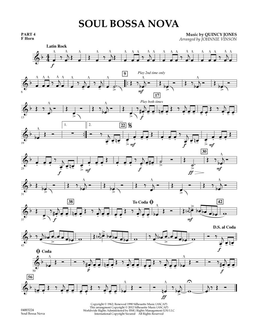 Soul Bossa Nova - Pt.4 - F Horn