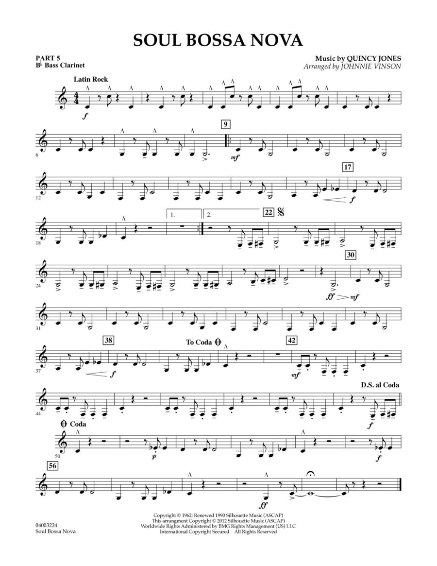 Soul Bossa Nova - Pt.5 - Bb Bass Clarinet
