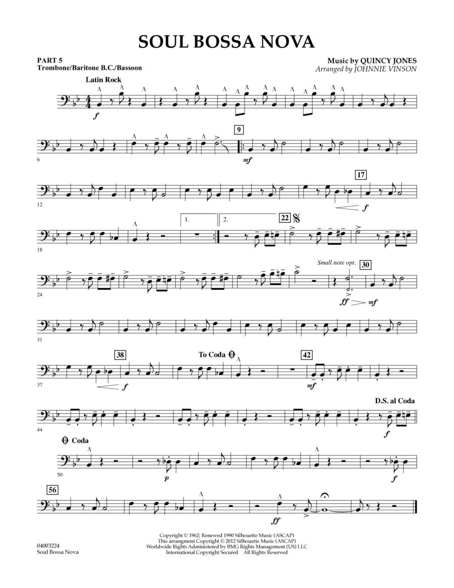 Soul Bossa Nova - Pt.5 - Trombone/Bar. B.C./Bsn.