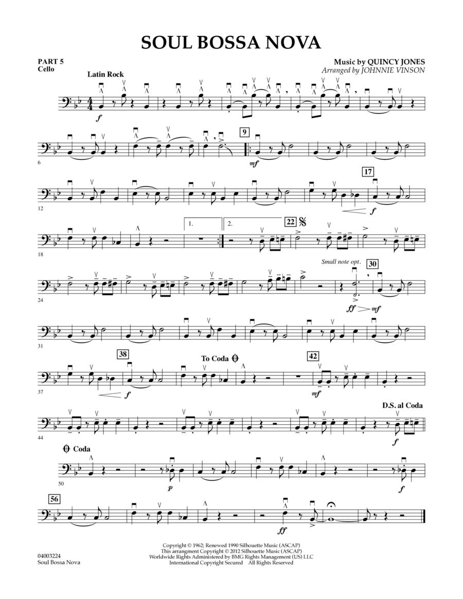 Soul Bossa Nova - Pt.5 - Cello