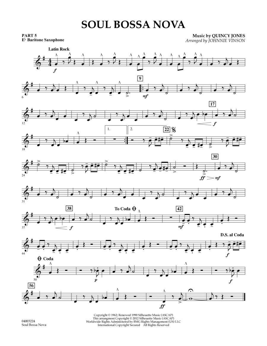 Soul Bossa Nova - Pt.5 - Eb Baritone Saxophone