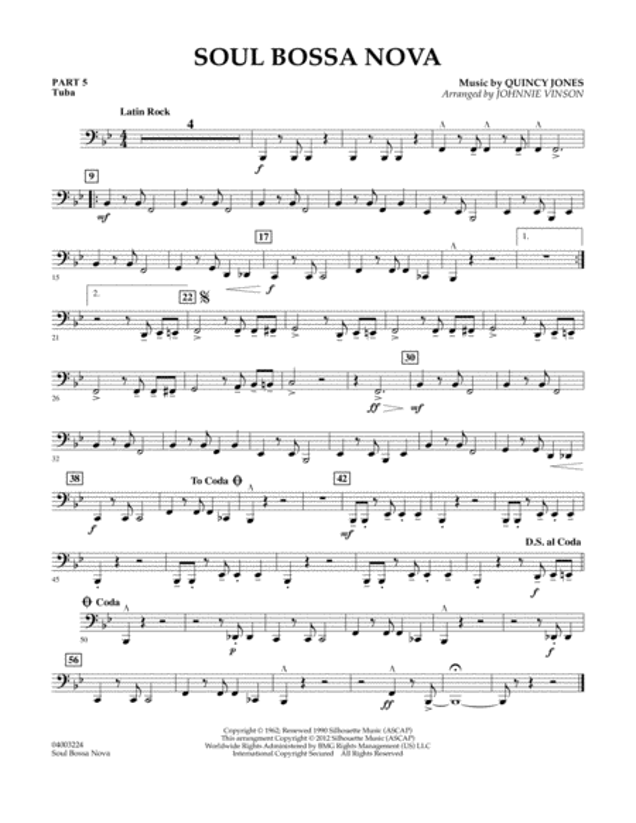 Soul Bossa Nova - Pt.5 - Tuba