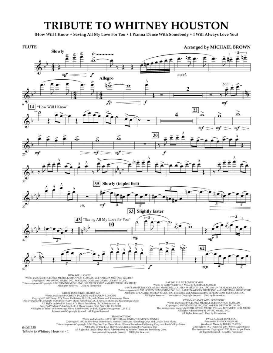 Tribute To Whitney Houston - Flute