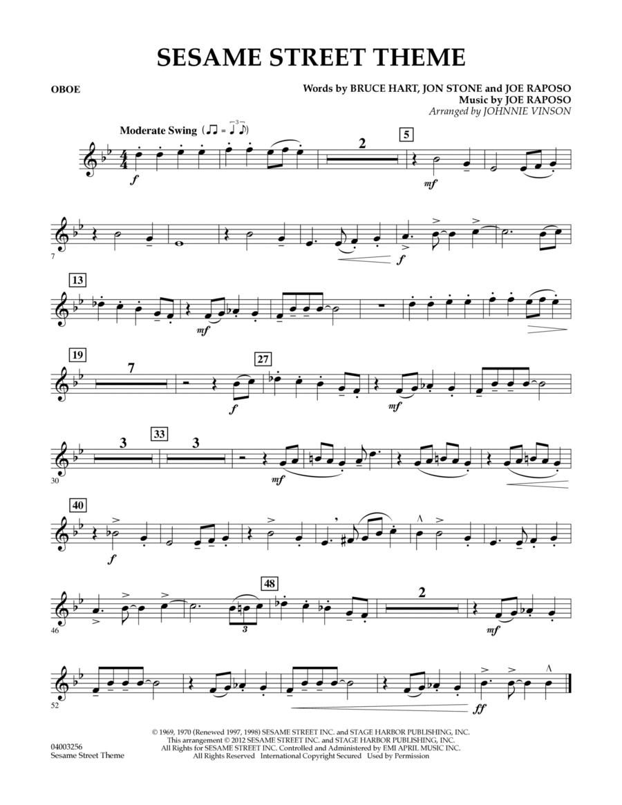 Sesame Street Theme - Oboe