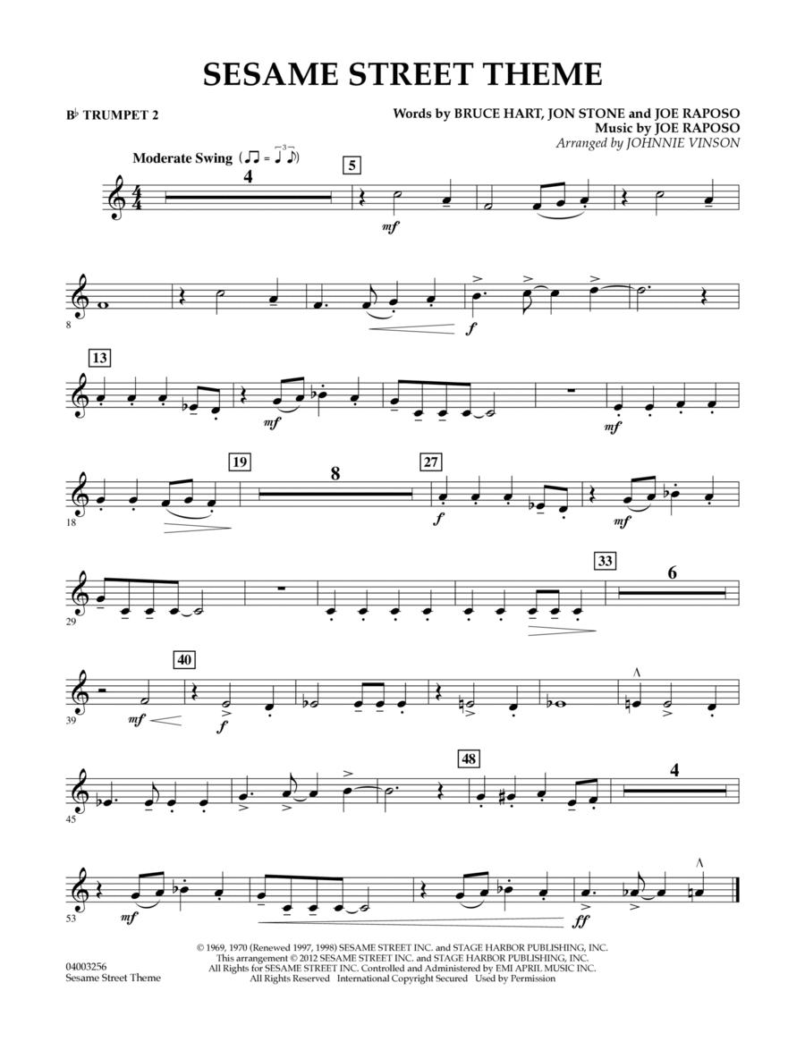 Sesame Street Theme - Bb Trumpet 2