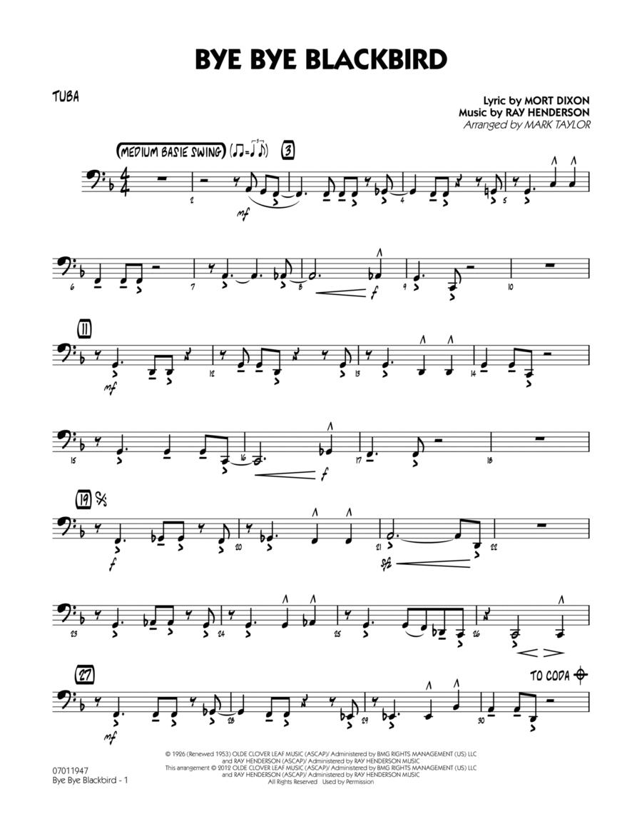 Bye Bye Blackbird - Tuba
